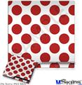 Sony PS3 Slim Skin - Kearas Polka Dots Brick