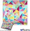 Sony PS3 Slim Decal Style Skin - Brushed Geometric