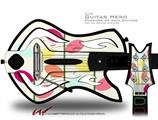 Plain Leaves Decal Style Skin - fits Warriors Of Rock Guitar Hero Guitar (GUITAR NOT INCLUDED)
