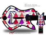 Triangles Berries Decal Style Skin - fits Warriors Of Rock Guitar Hero Guitar (GUITAR NOT INCLUDED)