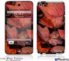 iPod Touch 4G Decal Style Vinyl Skin - Fall Tapestry