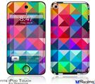 iPod Touch 4G Decal Style Vinyl Skin - Spectrums