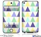 iPod Touch 4G Decal Style Vinyl Skin - Triangles Cool